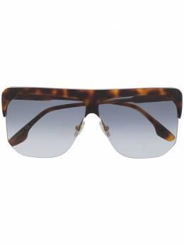 Victoria Beckham массивные солнцезащитные очки VB601S