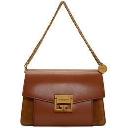 Givenchy Tan Small GV3 Bag 201278F04801101GB