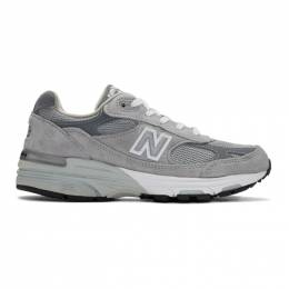 New Balance Grey 993 Sneakers WR993GL