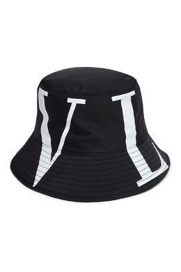 Черная панама с логотипом Valentino 210165900