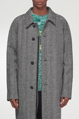 Серое пальто Maison Margiela 1350165491