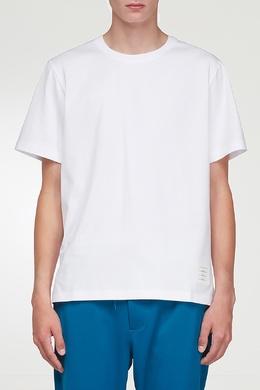 Базовая белая футболка Thom Browne 2875165517