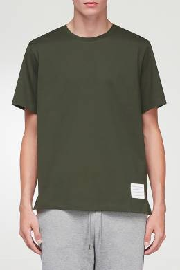 Зеленая футболка Thom Browne 2875165518