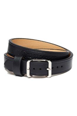 Черный кожаный ремень Maison Margiela 1350165967