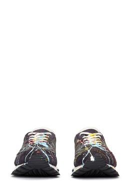 Черные кроссовки с контрастной отделкой Maison Margiela 1350165966