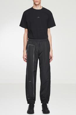 Черные брюки-джоггеры с отделкой A-Cold-Wall* 2876165562