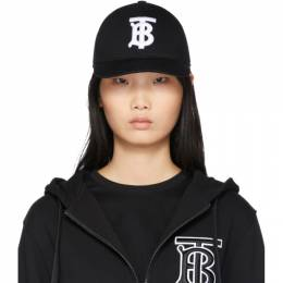 Burberry Black Logo Baseball Cap 8010946