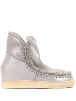 Mou ботинки с декоративной строчкой INNERWDESNEAKER