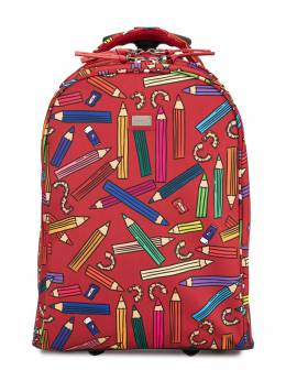 Dolce & Gabbana Kids чемодан с принтом EB0130AU818