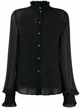 John Richmond рубашка с оборками RWA19452CA
