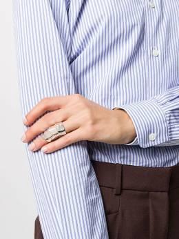 Vivienne Westwood кольцо Knuckleduster с логотипом 64030003Q003