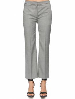 Straight Leg Cool Wool Crop Pants Alexander McQueen 71IG12038-MTA4NA2