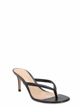 70mm Leather Thong Sandals Gianvito Rossi 71IAI4015-QkxBQ0s1