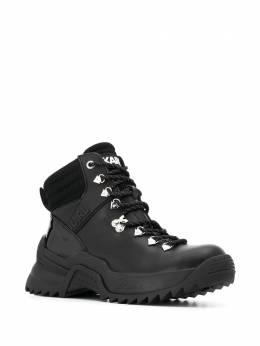 Karl Lagerfeld декорированные ботинки с логотипом KL615300000