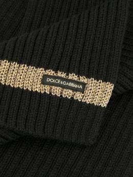 Dolce & Gabbana Kids шарф в рубчик LBKA29JAVQX