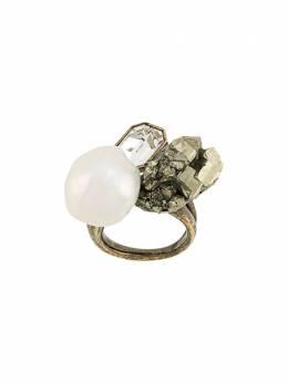 Salvatore Ferragamo кольцо с камнями 727623