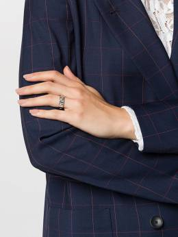 Tory Burch кольцо с логотипом 53362