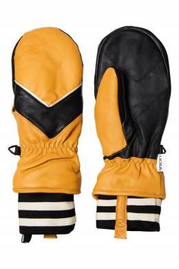 Кожаные варежки для сноуборда с графичным дизайном Roxy 2750163841