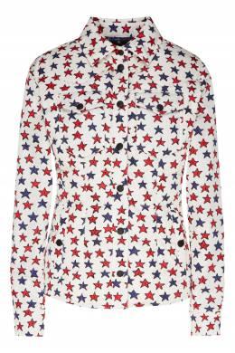 Утепленная рубашка с принтом Sobretta Moncler 34166347
