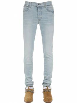 15cm Tapered Stack Cotton Denim Jeans Amiri 71IWUE005-TENJ0