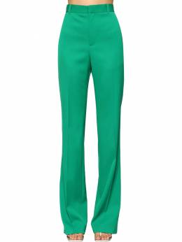 Straight Leg Virgin Wool Twill Pants Balenciaga 71IIUU068-MzA2NQ2