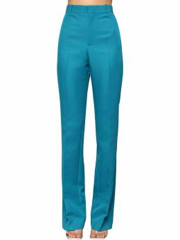 High Waisted Straight Leg Twill Pants Balenciaga 71IIUU007-NDQ3Nw2