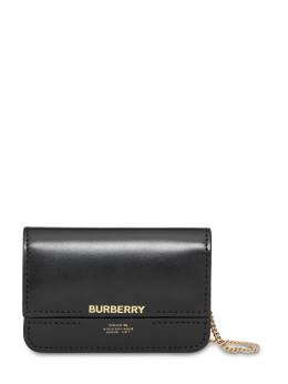 Jody Smooth Leather Wallet Chain Burberry 71ID1H053-QTExODk1
