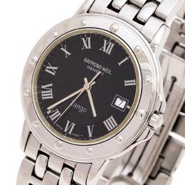 Raymond Weil Black Stainless Steel Tango 5560 Men's Wristwatch 36 mm 246505