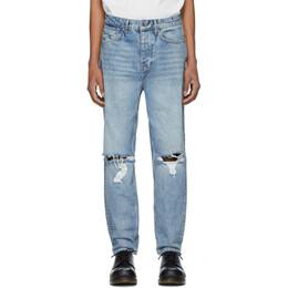 Ksubi Blue Bullet Jinx Trashed Jeans 201088M18601202GB