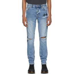Ksubi Blue Chitch Jinx Pay Up Jeans 201088M18601307GB