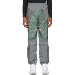 Nike Grey NRG ISPA Adjustable Track Pants 201011M19013303GB