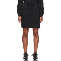 Nike Black Tech Fleece Sportswear Skirt 201011F05412105GB