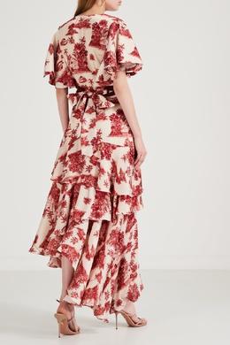 Платье с цветочными принтами Johanna Ortiz 2942166539