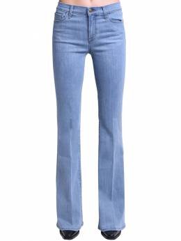 Valentina High Waist Flared Cotton Jeans J Brand 71IABT010-SjQ4NzE20