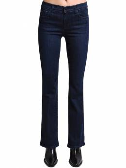 Salli Mid Flared Cotton Denim Jeans J Brand 71IABT009-SjQwNDE50