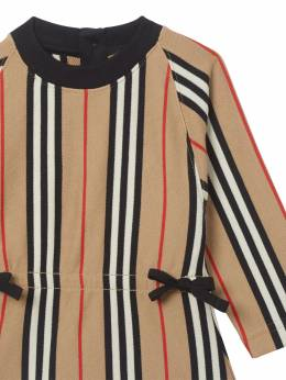 Icon Striped Cotton Dress Burberry 71I937035-QTcwMjY1
