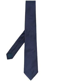 Lanvin однотонный галстук с заостренным концом 12821
