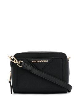 Karl Lagerfeld каркасная сумка Klassik 96KW3101999