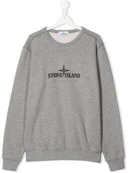 Stone Island Junior толстовка с логотипом MO711661840