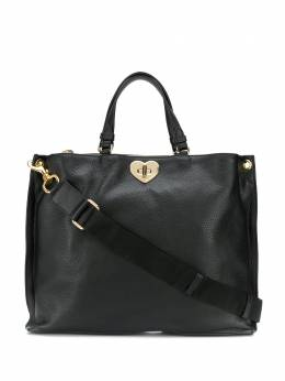 Twin-set сумка-тоут с поворотным замком 192TO8090