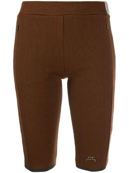 A-Cold-Wall* облегающие шорты с логотипом CW9SWT05JE063726