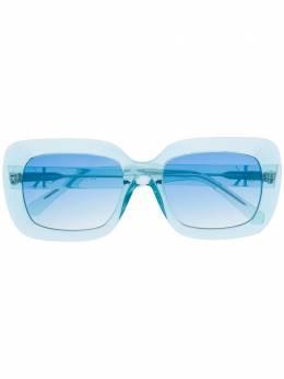Calvin Klein Jeans солнцезащитные очки в массивной оправе CKJ18502S