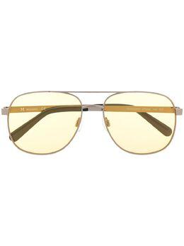 Missoni солнцезащитные очки-авиаторы с затемненными линзами MM669S03