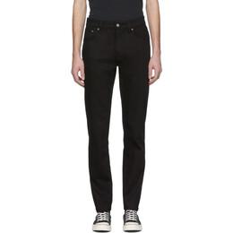 Nudie Jeans Black Steady Eddie Jeans 201078M18603412GB