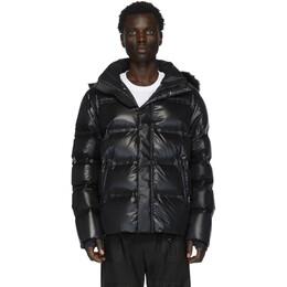 Fendi Black Down Hooded Jacket 201693M17814702GB
