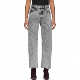 Alexander Wang Grey Curb Jeans 201187F06918401GB