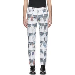 424 White Runway Jeans 192010M18600105GB