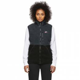 Nike Black and Grey Winter Vest 201011F06854902GB