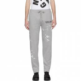 Helmut Lang Grey Painter Lounge Pants 201154M19001106GB