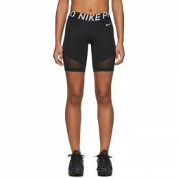 Nike Black Nike Pro Training Shorts 201011F08811801GB